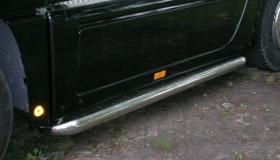 Mercedes Actros rura przyprogowa fi 101,6