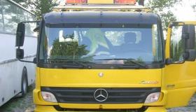 Mercedes Atego rura pod koguty