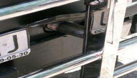 Renault Magnum mocowanie orurowania przedniego