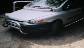 Fiat Multipla orurowanie przednie i boczne