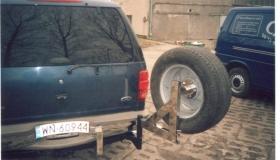 Ford Explorer mocowanie koła zapasowego