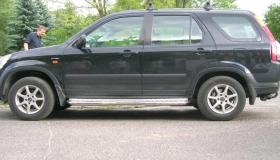 Honda CRV stopnie progowe