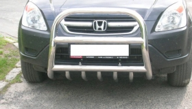 Honda CRV rura przednia z osłoną miski