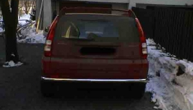 Honda HRV orurowanie tylnie