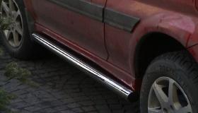 Honda HRV rury przyprogowe