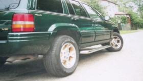 Jeep Grand Cherokee rury przyprogowe fi 60