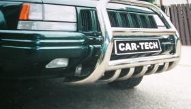 Jeep Grand Cherokee orurowanie przednie z osłoną miski