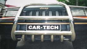 Jeep Grand Cherokee rura przednia z osłoną reflektorów