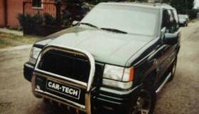 Jeep orurowanie przednie i boczne
