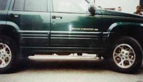 Jeep orurowanie boczne