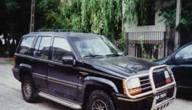Jeep rura przednia z osłoną reflektorów