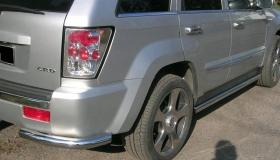 Jeep Grand Cherokee próg i narożnik