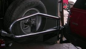 Jeep Grand Cherokee koło zapasowe
