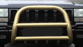 Jeep Grand Cherokee orurowanie przednie malowane proszkowo