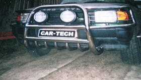 Land Rover Discowery orurowanie przednie