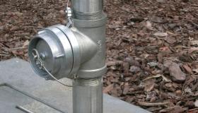 hydrant ze stali chromoniklowej