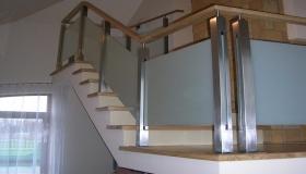 balustrada chromoniklowa