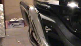BMW X5 orurowanie przednie - stal chromowo niklowa