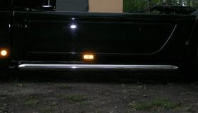 Mercedes Actros - orurowanie boczne fi 101.6,