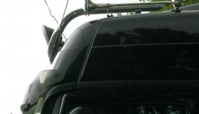 Mercedes Actros - orurowanie dachowe fi 60.3,
