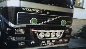 Volvo FH12 rura przednia z halogenami